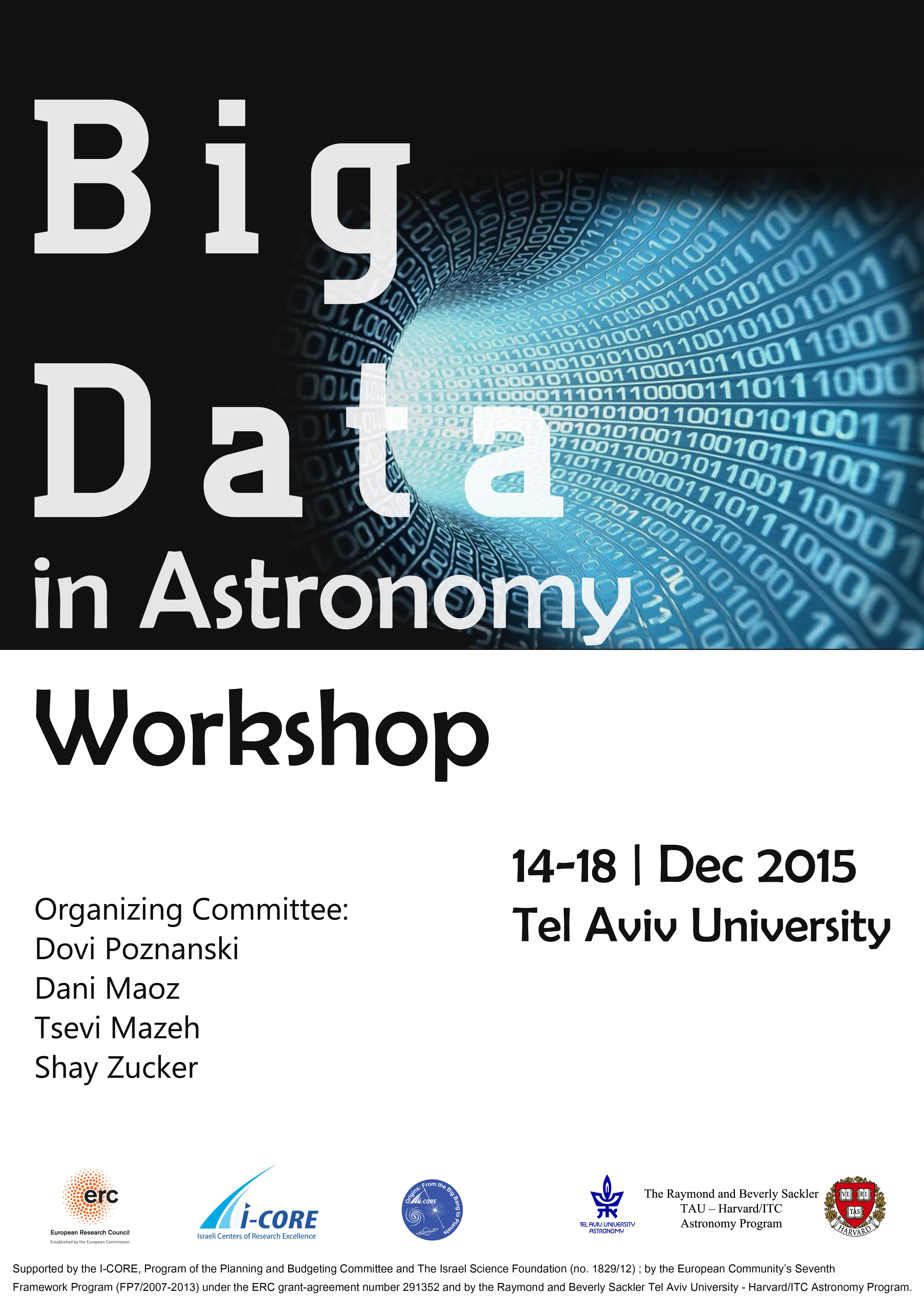 big data in astronomy workshop
